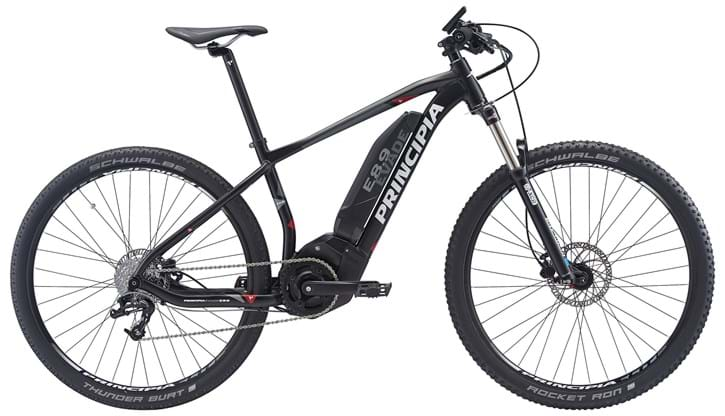 Principia Evade E 8.9 MTB Center display Sram 8sp Hydr.  Matsort.